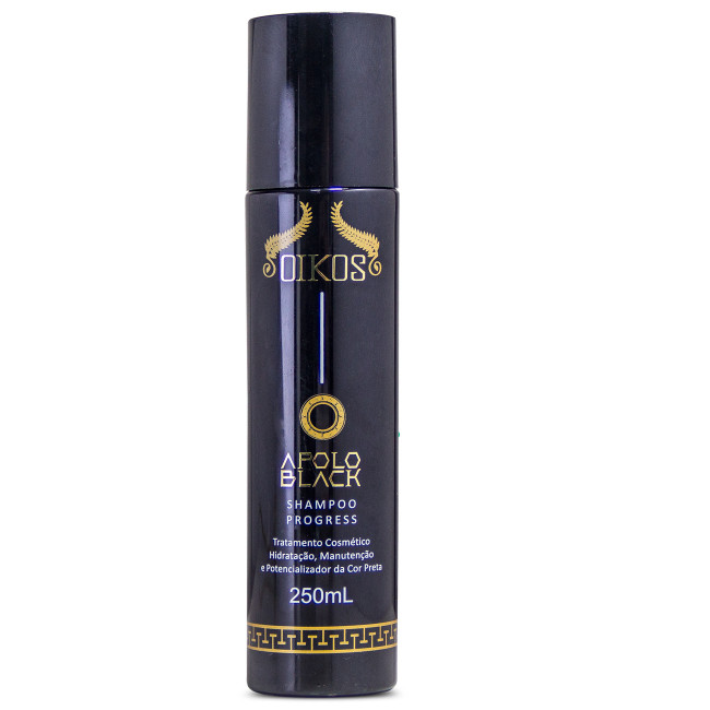 Shampoo Oikos Apolo Black 250ml