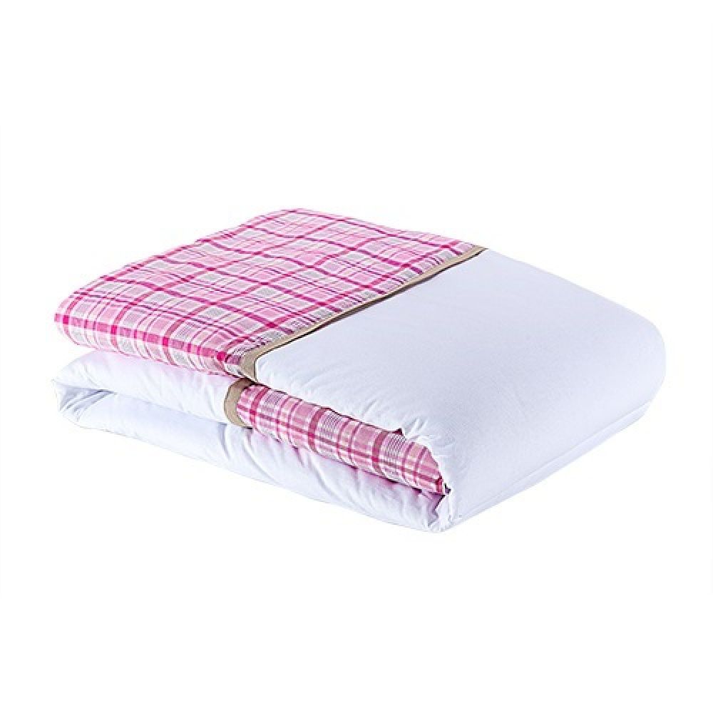 Edredom Coleção Conforto Carrossel rosa