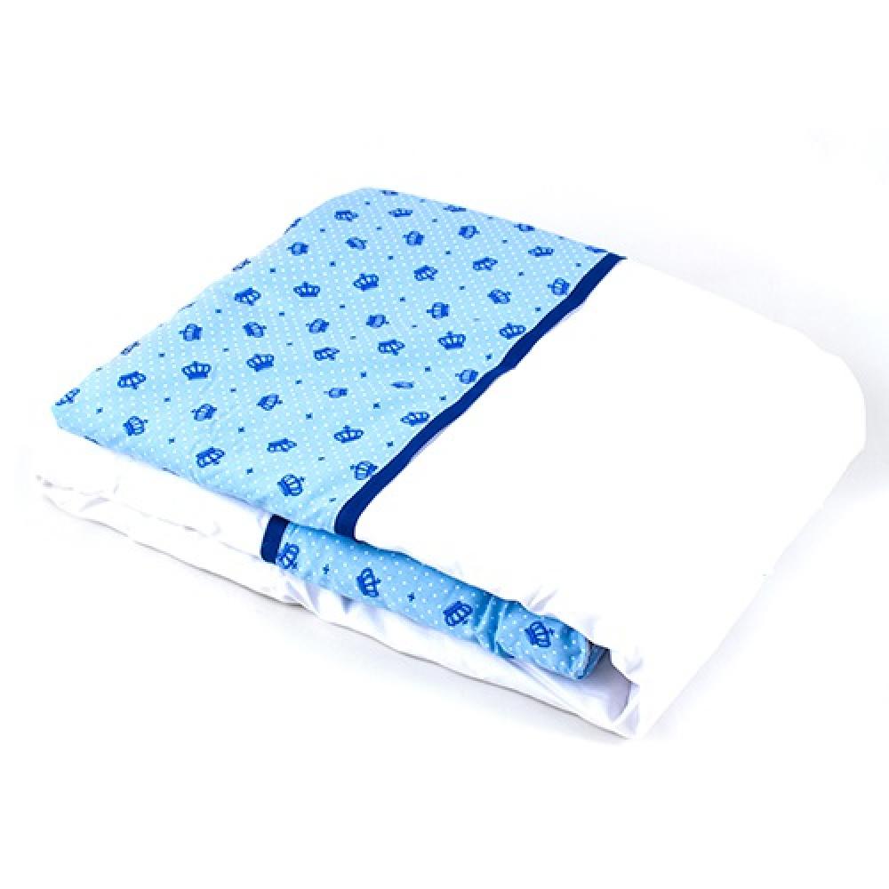 Edredom Coleção Conforto Coroa azul
