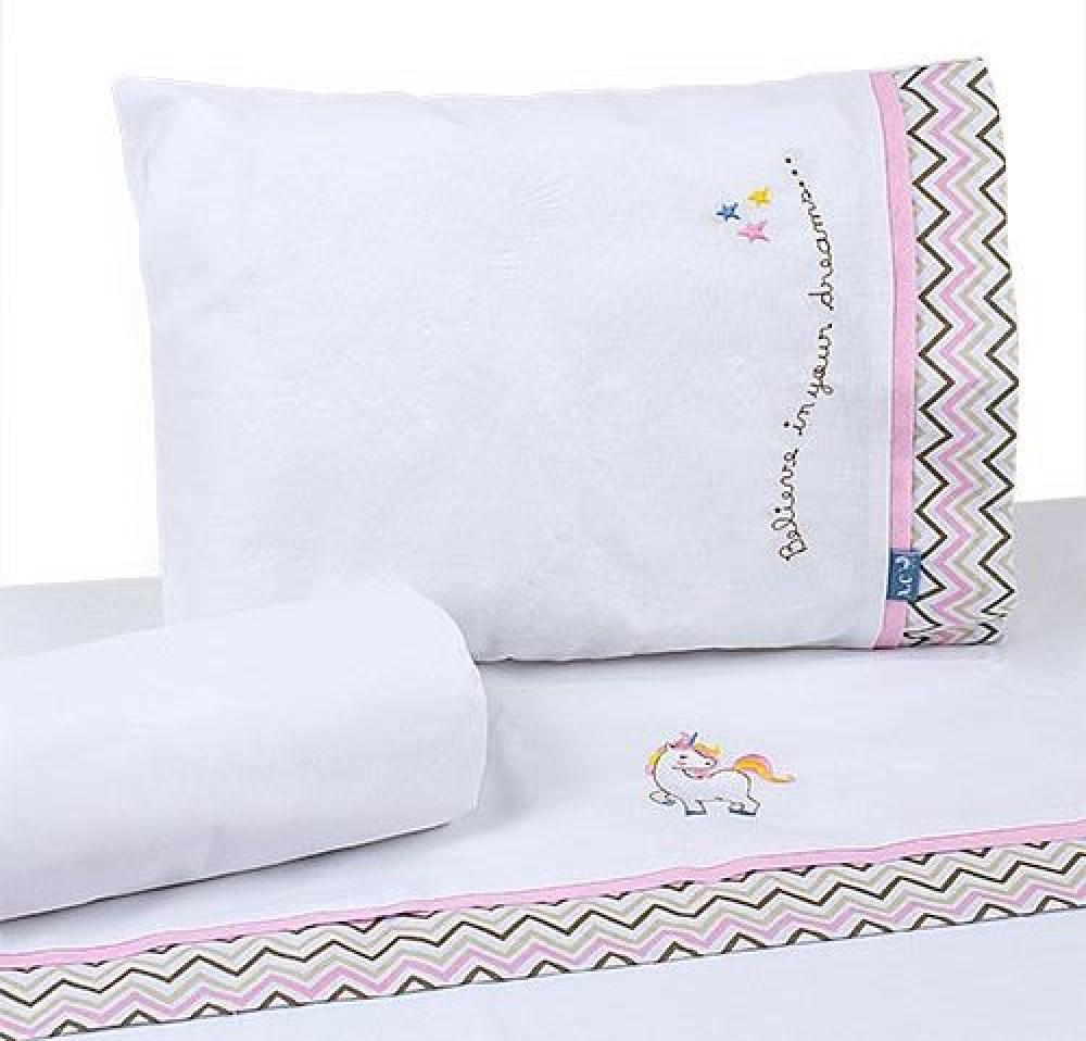 Jogo de lençol Coleção Conforto Unicórnio