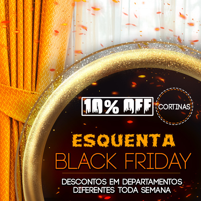 Esquenta Black Friday - Cortinas