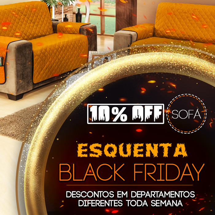 Esquenta Black Friday - Sofá