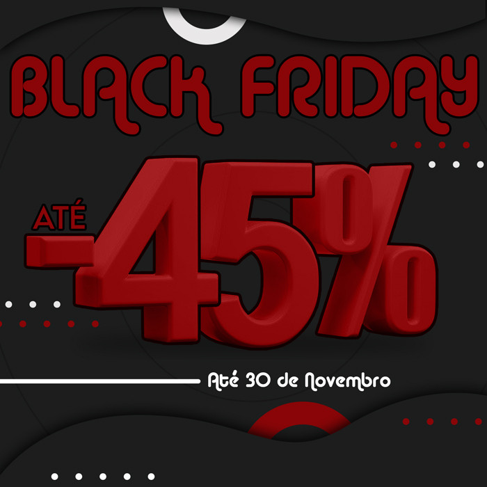Black Friday - 45% OFF