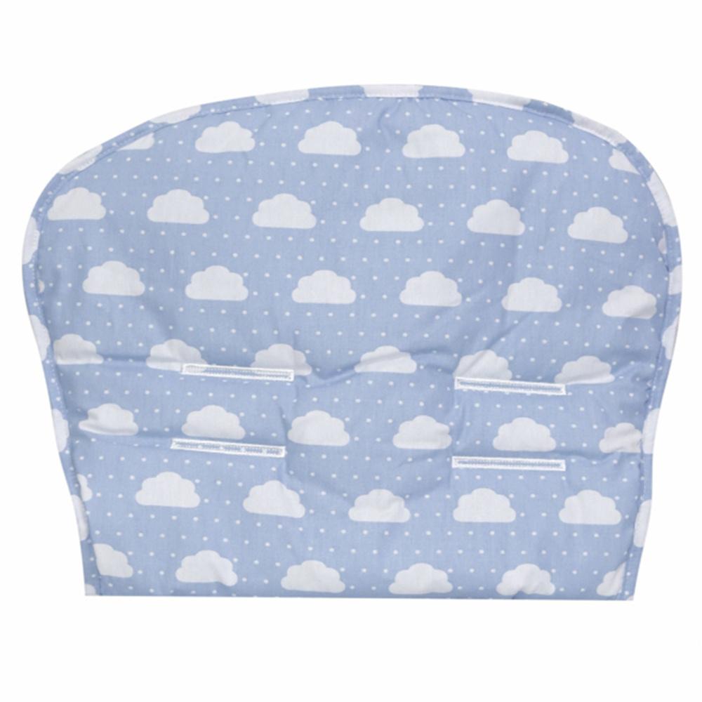 Capa Para Carrinho De Bebê 76cm x 36cm 100% Algodão Nuvenzinha Premium - Azul Bebê