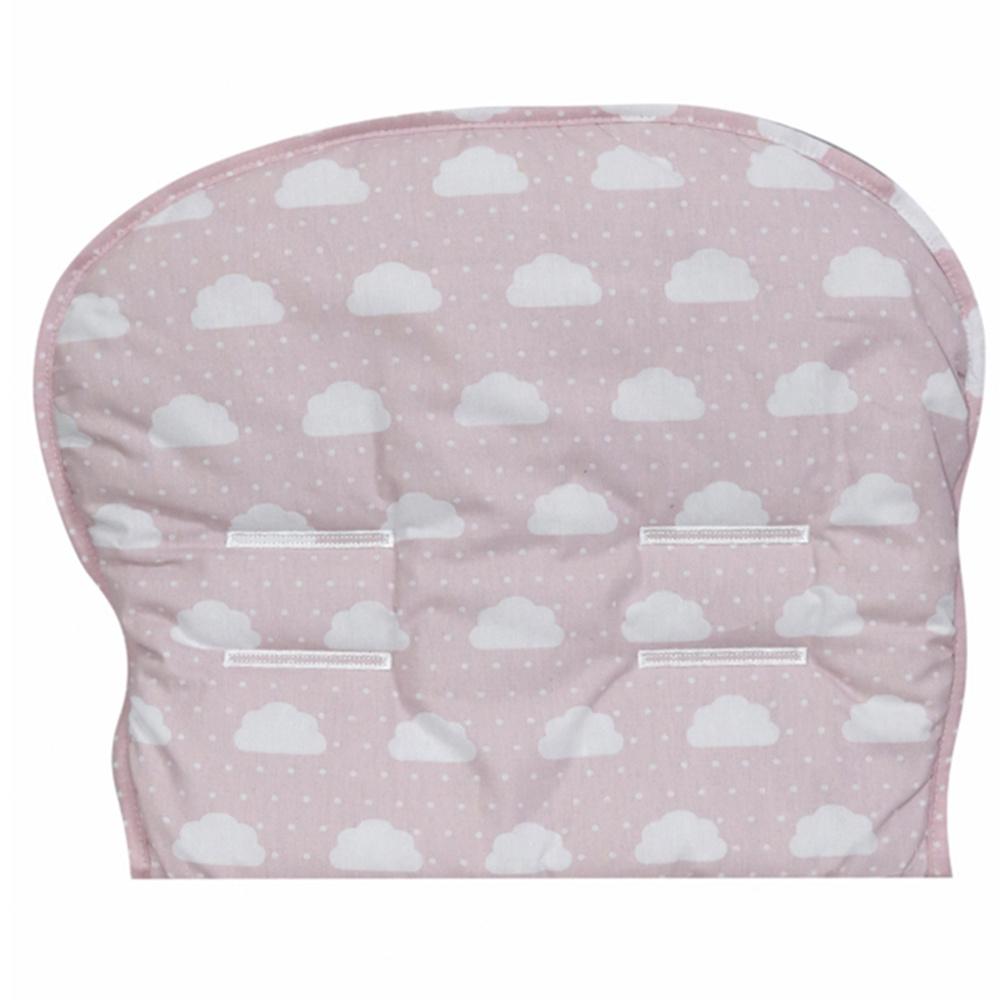 Capa Para Carrinho De Bebê 76cm x 36cm 100% Algodão Nuvenzinha Premium - Rosa