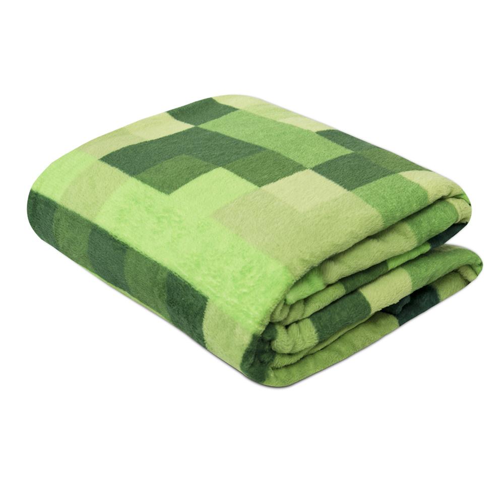 Manta Soft Fleece Microfibra Felpuda Casal 2,00m X 1,80m Com Toque Aveludado - Tretis