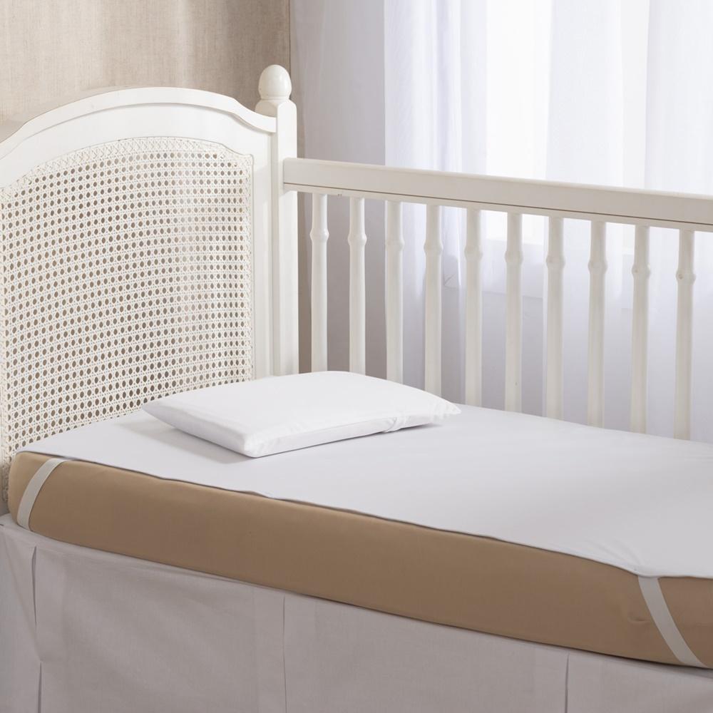 Protetor Para Colchão De Berço Impermeável Malha - Branco