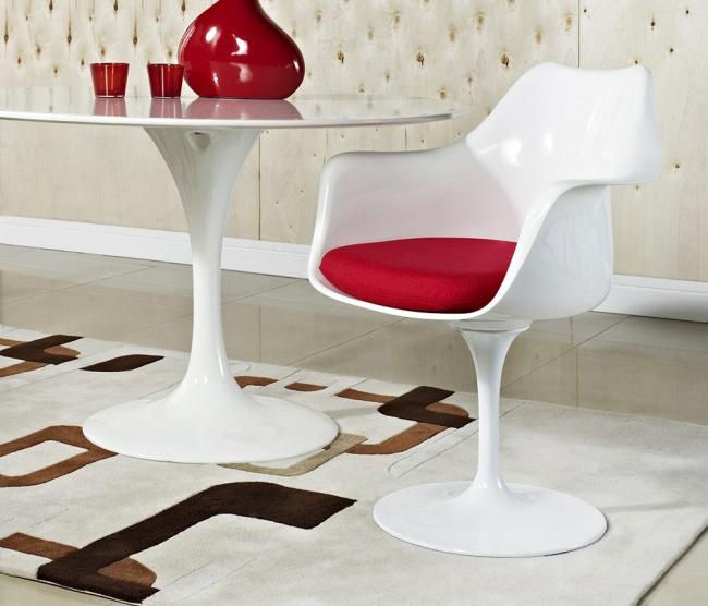 Cadeira Saarinen ABS (com braços) - Essência Móveis de Design