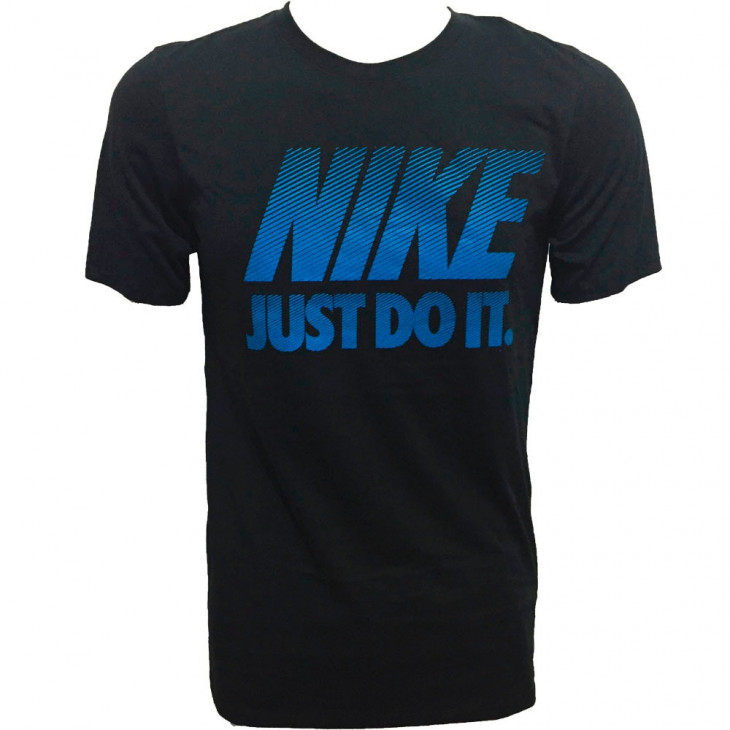 Camiseta Nike Manga Curta Mens Color Preta