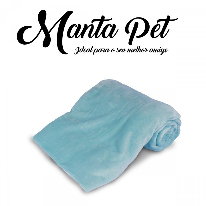 Mantinha Pet Toy Everest Acqua