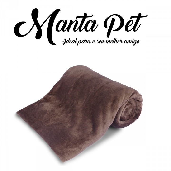 Mantinha Pet Toy Everest Tabaco