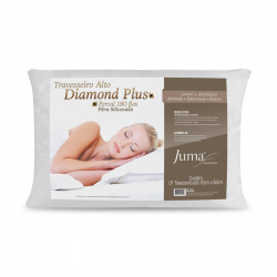 Travesseiro Diamond Plus Percal 180 Fios