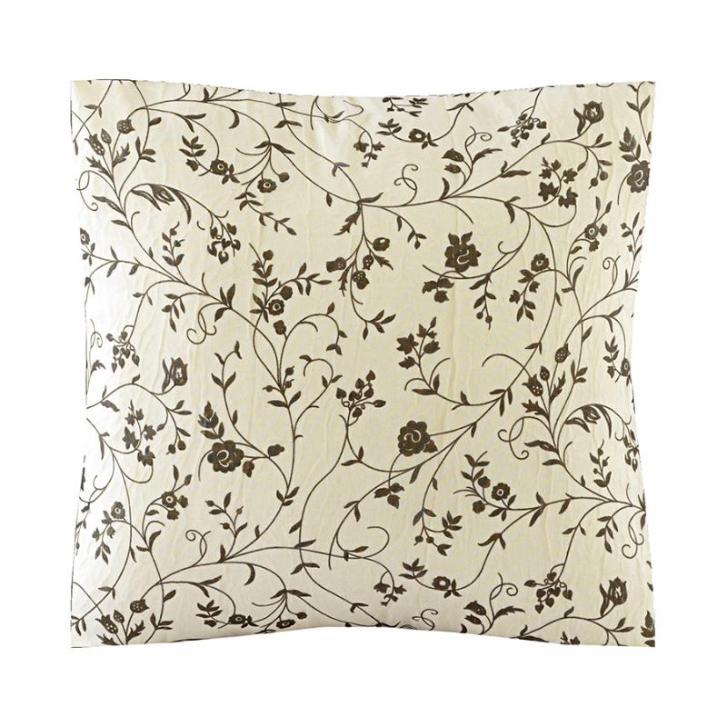 Almofada Sophie Voil Estampado Floral Delicado e Enchimento